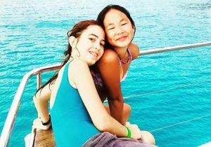 Joy Hallyday : tendre souvenir de vacances avec la fille de Calogero