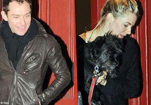 Jude Law/ Sienna Miller : ils ne se cachent plus…trop !
