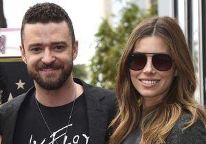 Justin Timberlake et Jessica Biel amoureux pour inaugurer l'étoile des NSYNC à Hollywood
