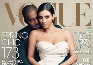 Kanye West et Kim Kardashian en couverture de Vogue : la polémique enfle