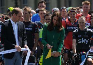 Kate Middleton a donné le coup d'envoi du Tour de France