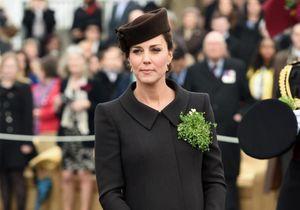 Kate Middleton affiche ses rondeurs pour la Saint-Patrick