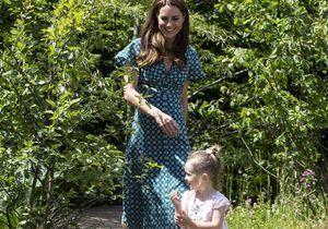 Kate Middleton, entourée d'enfants, retrouve le sourire