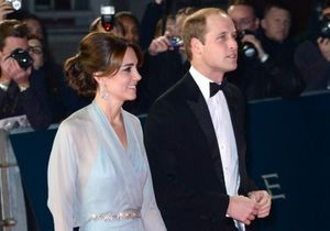 Kate Middleton et le prince William ont assisté à l'avant-première de James Bond
