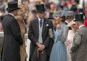 Kate Middleton et le prince William, unis et complices aux courses hippiques d'Ascot