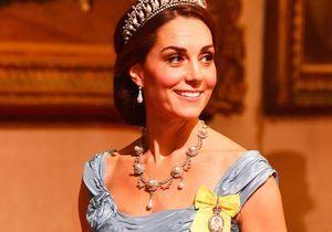 Kate Middleton n'a jamais autant ressemblé à une princesse de contes de fées !