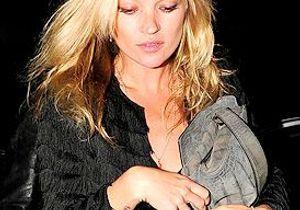 Kate Moss : Un autoportrait très rock !