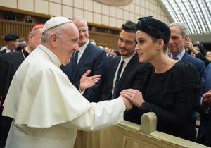 Katy Perry et Orlando Bloom : rencontre avec le pape François