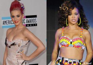 Katy Perry et Rihanna: les maîtresses rêvées selon un sondage