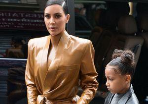Kim Kardashian à la rescousse de sa fille North West après la publication d'une de ses peintures