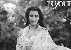 Kim Kardashian enceinte : son shooting au naturel