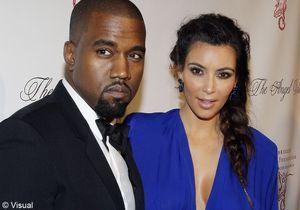 Kim Kardashian est enceinte de Kanye West