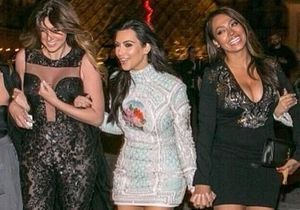 Kim Kardashian et Kanye West, c'est déjà la fête à Paris!