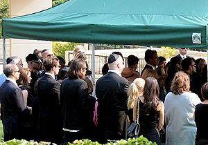 L'ex de Nicole Richie a été enterré jeudi
