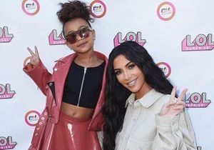 Découvrez l'hilarante séance de maquillage de Kim Kardashian avec sa fille North West