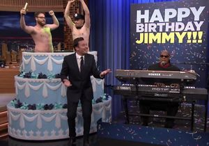 L'incroyable surprise de James Franco à Jimmy Fallon pour son anniversaire