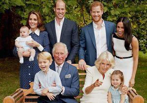 La princesse Charlotte et le prince George rient aux éclats sur une nouvelle photo dévoilée pour les 70 ans du prince Charles