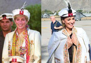 Lady Di - Kate Middleton au Pakistan : les ressemblances entre la mère et la femme du prince William