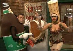Lady Gaga et Justin Timberlake adeptes de bière et de vin