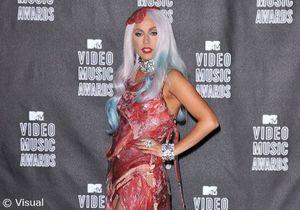 Lady Gaga : sa robe en viande exposée dans un musée