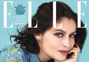 Laetitia Casta en couverture de ELLE cette semaine!