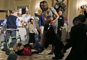 Le chien des Obama s'attaque aux invitésde la Maison-Blanche