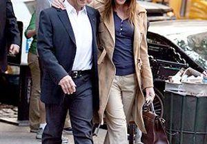 Le couple Sarkozy en balade à New York