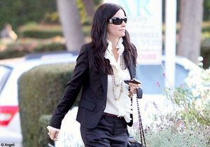Le look du jour : Courteney Cox