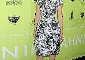 Le look du jour : Lucy Liu