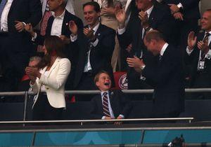 Le prince George fou de joie puis dépité lors de la finale de l'Euro