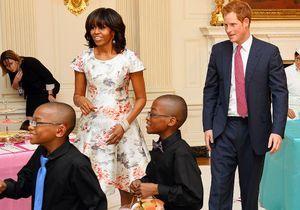 Le prince Harry reçu à la Maison Blanche