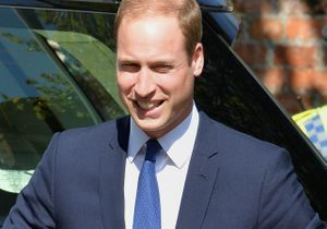 Le prince William rayonnant à Oxford après l'annonce de la grossesse de Kate Middleton