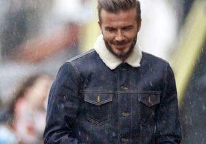 Le regard attendri de David Beckham en balade avec Harper