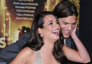 Lea Michele-Ashton Kutcher : les acteurs plus proches que jamais
