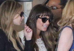 Lea Michele retrouve le sourire après la mort de Cory Monteith