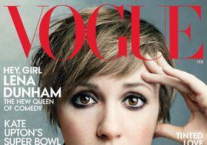 Lena Dunham belle et glamour en couverture du « Vogue » US