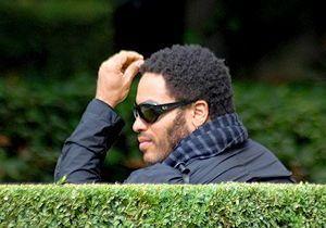 Lenny Kravitz : vacances parisiennes
