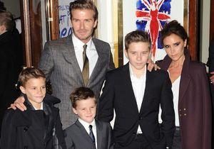 Les Beckham élus parents de l'année par les Britanniques