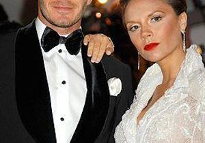 Les Beckham victimes d'un accident de la route