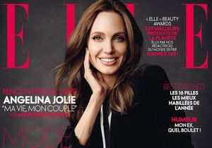 Les confessions exclusives d'Angelina Jolie dans ELLE cette semaine!