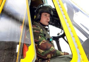 Le prince William se confie sur son premier jour comme pilote d'hélicoptère