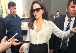 Les dernières photos d'Angelina Jolie, très maigre, alarment ses fans