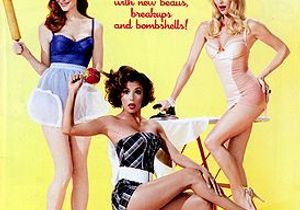 Les Desperate Housewives jouent les pin-up !