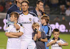 Les enfants du couple Beckham ont déjà une école à Paris