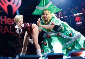 Les photos de Noël très hot de Miley Cyrus
