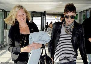 Les stars à l'aéroport