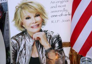 Les stars rendent un hommage V.I.P. à Joan Rivers