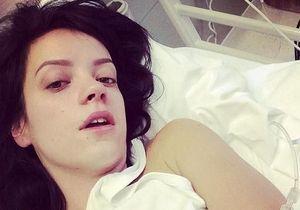 Lily Allen: intoxiquée, elle est hospitalisée d'urgence