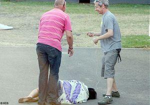 Lily Allen s'effondre après son concert