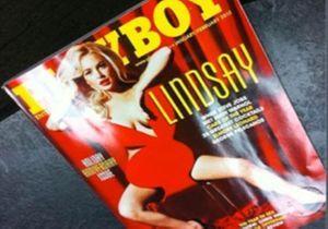 Lindsay Lohan nue pour Playboy : la couverture a filtré !